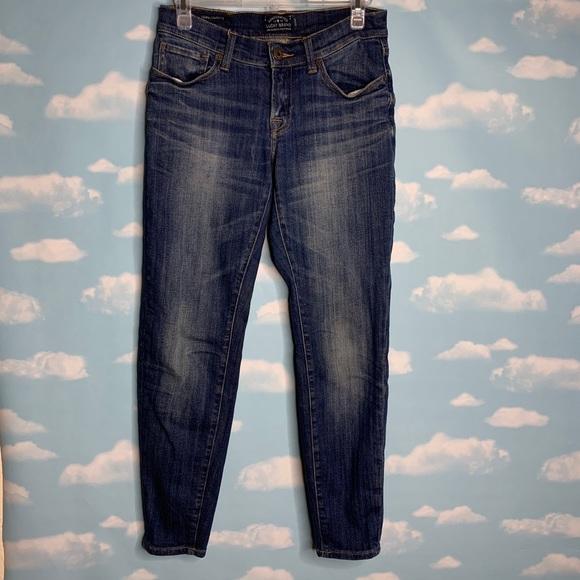 Lucky Brand Denim - Lucky Brand- Sienna Cigarette Dark Wash Jeans sz00